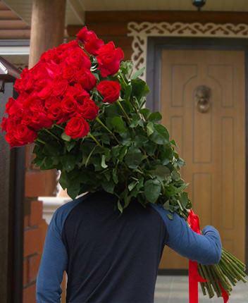 Цветов орске цветы огромный букет роз букет 101 роза